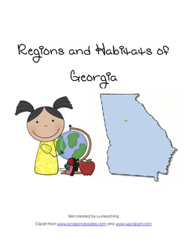 Habitats and Regions of Georgia Test