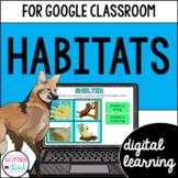 Google Classroom Distance Learning Habitats