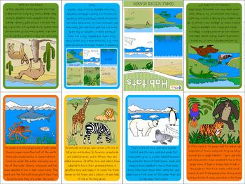 Habitats mini book