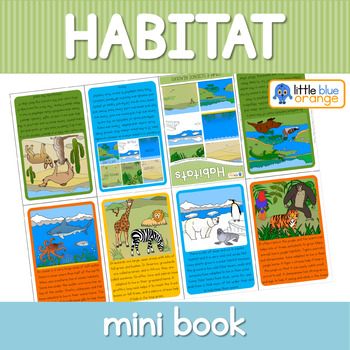 Habitats mini book