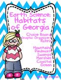Choice Board: Habitats of Georgia Choice Board, Rubric & Graphic Organizers