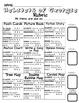 Choice Board: Habitats of Georgia Choice Board, Rubric & G