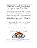 Habitats of Georgia Organizer Booklet