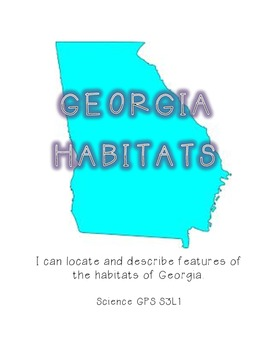 Habitats of Georgia Organizer Booklet