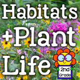 Habitats/Plant Life NGSS Inquiry-Based Science Experiments/Activities -2nd Grade
