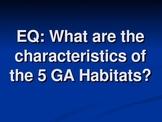 Habitats/Regions of Georgia Science PowerPoint