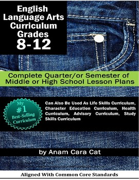 Habits for Teens | Life Strategies for Teens UNIT | 11 WEEKS of Lesson Plans!