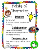 Habits of Character Poster