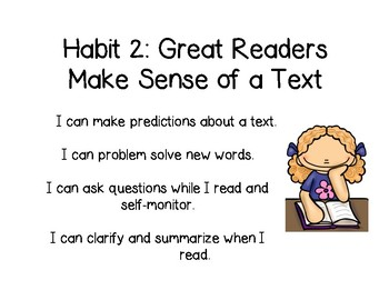 Habits of Great Readers Posters