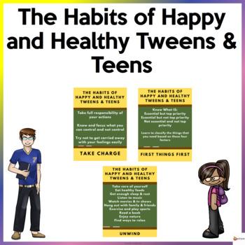 Habits of Happy Healthy Tweens & Teens