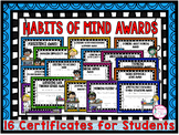 Habits of Mind (Award Certificates)