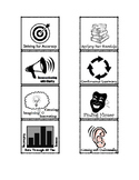 Habits of Mind Badges Symbols & Words