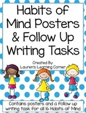 Habits of Mind Posters & Writing Follow Up Tasks