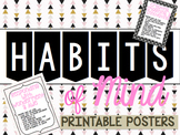 Habits of Mind - Printable Posters