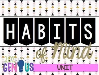 Habits of Mind Unit with Answer Key!