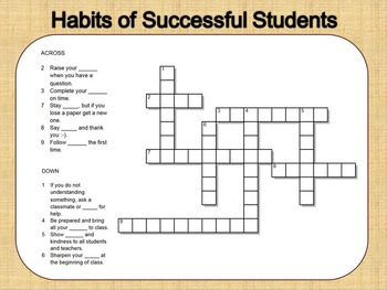Habits of Successful Students
