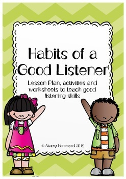 Habits of a Good Listener Lesson Pack