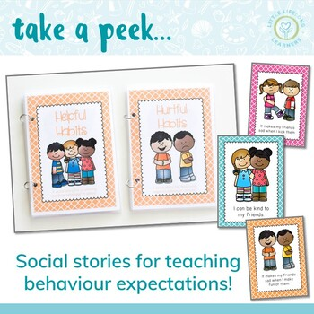 Behavior Management Social Stories - Habits of a Happy Class