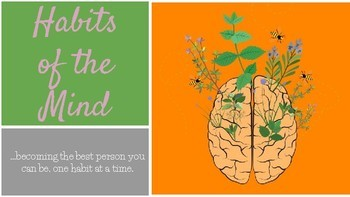 Habits of the Mind Posters