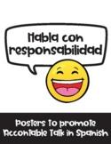 Habla con responsabilidad / Accountable Talk in Spanish