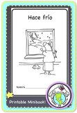 Hace frío Winter Clothes Printable Spanish Minibook