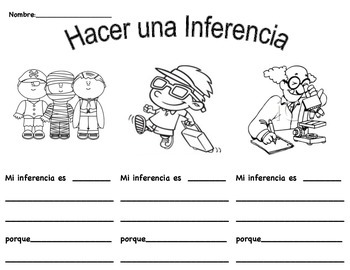 Hacer Una Inferencia 2. Make an Inference