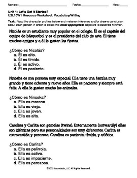 Hacer inferencias y sacar conclusiones Complete LP, Worksheets & Assessment