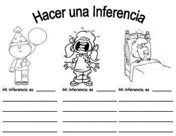 Hacer una Inferencia. Make an Inference