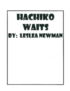 Hachiko Waits Comprehension and Vocabulary Packet