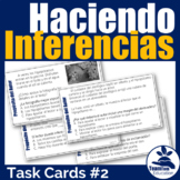 Haciendo Inferencias: Making Inferences Task Cards 2 (Author's Purpose)