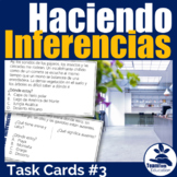 Haciendo Inferencias Tarjetas - Making Inferences Task Cards 3 (Setting)