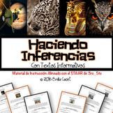 Haciendo Inferencias con Textos Informativos ~ Material Alineado con el STAAR