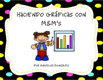 Haciendo gráficas con M&M's (M&M graphing SPANISH)
