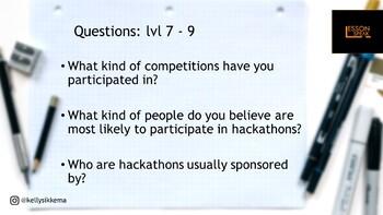 Hackathons lvl 7 - 11 (Distance Learning)