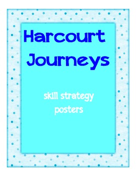 Harcourt Journeys : Strategy Skill Posters