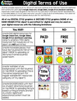Hadasa Designs: Boy Emoticons Clip Art 3 - Combo Pack