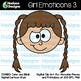 Hadasa Designs: Boy & Girl Emoticons Clip Art - Bundle 2