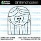 Hadasa Designs: Girl Emoticons Clip Art 1 - Combo Pack
