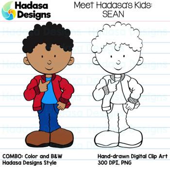 Hadasa Designs: Meet Sean Clip Art FREEBIE