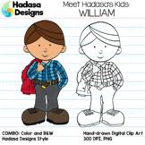 Hadasa Designs: Meet William Clip Art FREEBIE