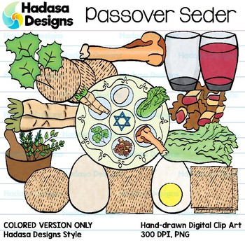 Hadasa Designs: Passover Seder - Color Set