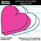 Hadasa Designs: Sketched Candy Heart Clip Art - Rainbow Set