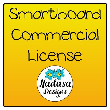 Hadasa Designs: Smartboard Commercial License