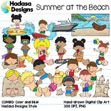 Hadasa Designs: Summer at the Beach Clip Art - COMBO PACK