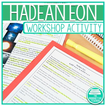 Earth History Reading Passage Set: Hadean Eon