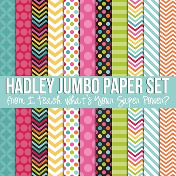 Hadley Jumbo Set Digital Papers