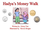 Hadya's Money Walk - A Simple Story Featuring Canadian Coins