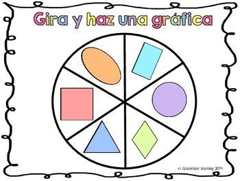 Gira y haz una gráfica - Las figuras