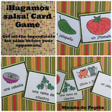 ¡Hagamos salsa! Printable Spanish Card Game