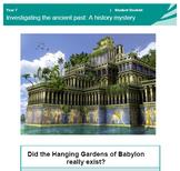 7 Wonders of the World - Hanging Gardens of Babylon - Hist